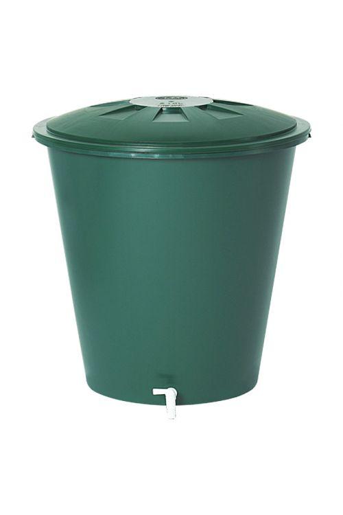 Kad za deževnico Garantia Basic Line (310 l, zelene barve, s pipo)