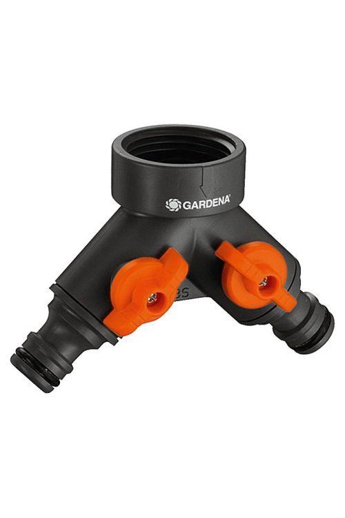 """Dvosmerni ventil Gardena (velikost navoja pipe: 33,3 mm (G 3/1""""), priključki: 2)"""