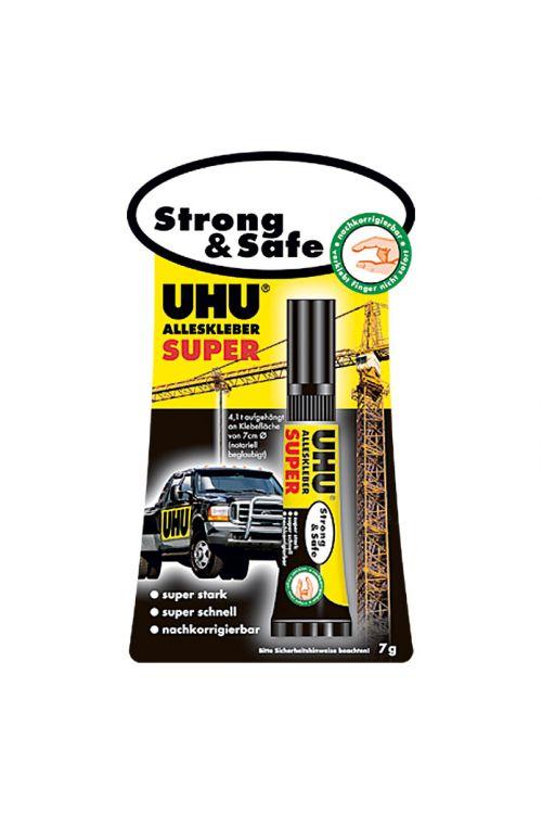 Univerzalno lepilo UHU Super Strong & Safe (7 g, tuba)