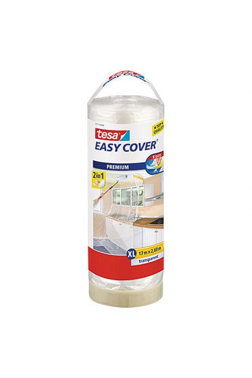 Prekrivna folija Easy Cover Premium tesa (rezervna rola, 2,6 x 17 m, enostranski krep lepljivi rob)