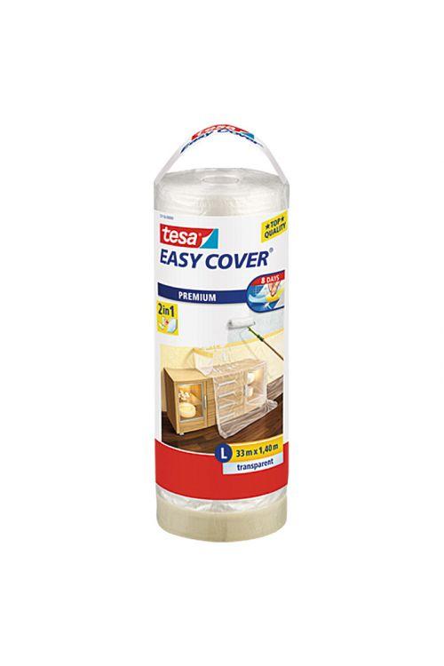 Prekrivna folija Easy Cover Premium tesa (rezervna rola, 1,4 x 33 m, enostranski krep lepljivi rob)