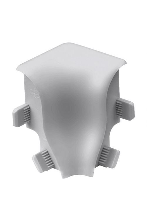 Notranji vogalnik LOGOCLIC (krom, mat, 2 kosa, primeren za: talno letev K40)