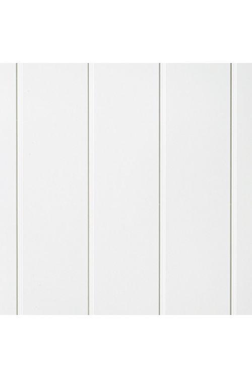Panelna plošča Variation, LOGOCLIC (uni bela, 2600 x 154 x 10 mm)