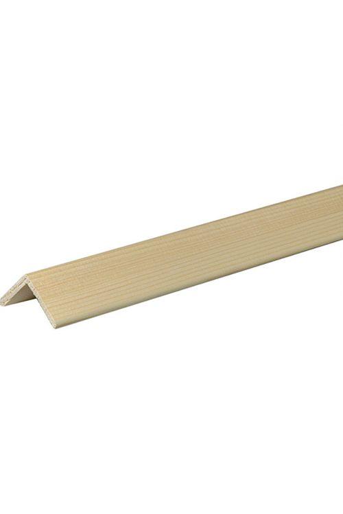 Kotna letev (smreka/bor, 2,4 m x 4 cm x 4 cm)