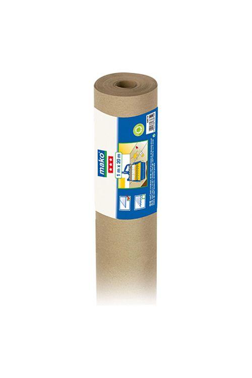 Gladki papir za zaščito površin med pleskanjem Mako (100 g/m², 20 x 1 m, rola)