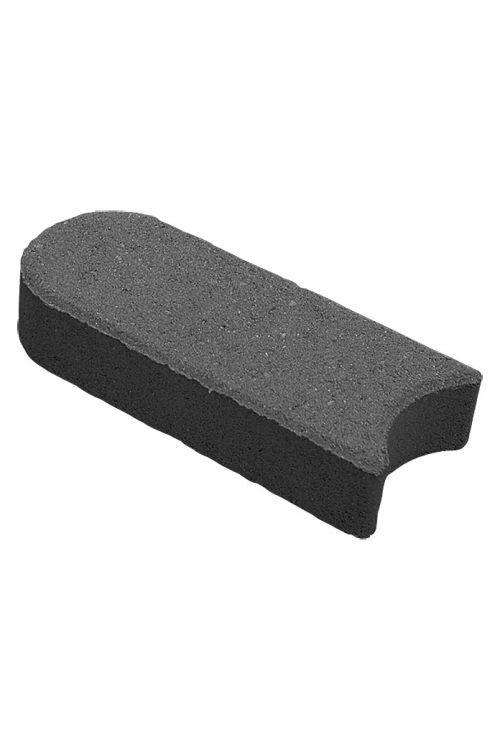 Robnik (antraciten, beton, 22 x 10 x 4,5 cm)