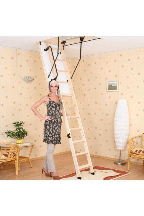 Podstrešne stopnice Meisterholz Thermo Extra (120 x 70 cm, toplotna izolacija: 1,3 W/m²K)