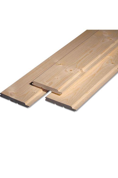 Profilni les Meisterholz (smreka/jelka, A-sort., 300 x 12,1 x 1,4 cm)