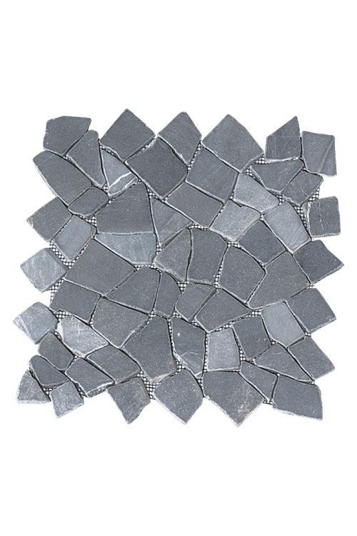 Lomljeni mozaik Marmor (30 x 30 cm, siv, mat)