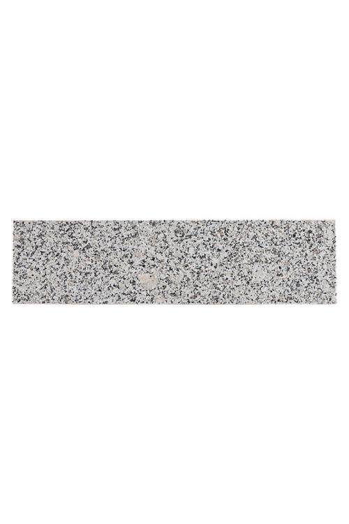 Robna ploščica Bianco Cordo (8 x 30,5 cm, siva, polirane)