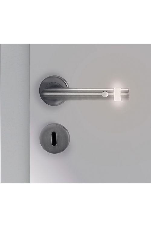 LED-garnitura za vrata Portaferm (luknja: Buntbart BB, mat, infrardeči senzor – časovni interval 10 s, univerzalna uporaba)