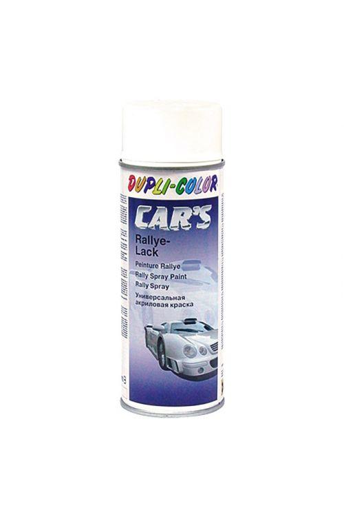 Lak v pršilu Dupli-Color CAR'S Rallye (bel, sijoč, 400 ml)