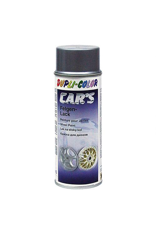 Lak za platišča Dupli-Color CAR's (srebrn, svilnat sijaj, 400 ml)