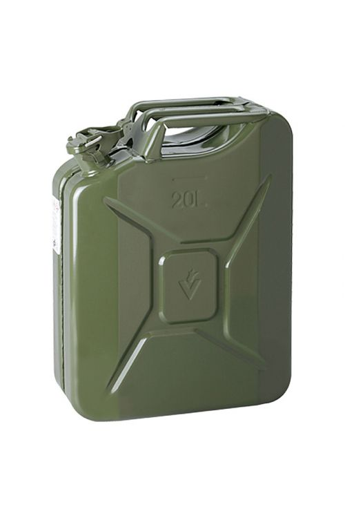 Posoda za bencin UniTec (volumen: 20 l, jeklena pločevina)