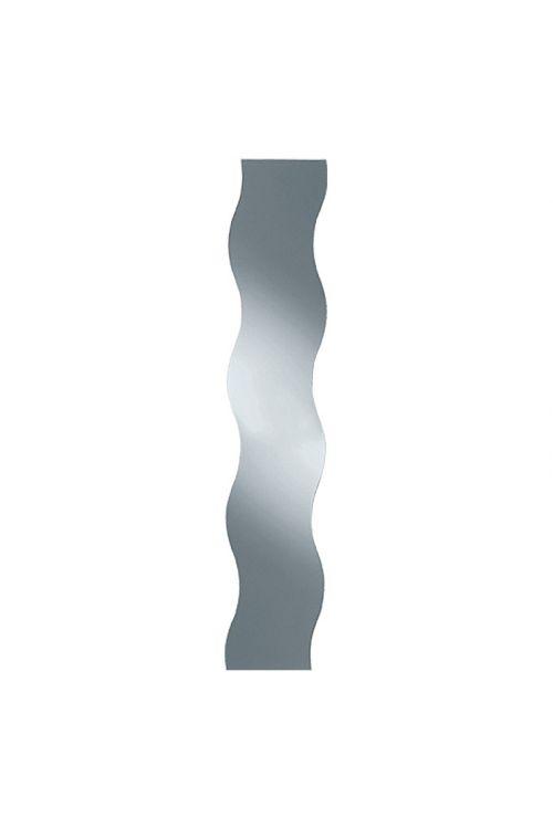 Stensko ogledalo Wave, Kristall-Form (valovit, 29 x 150 cm)