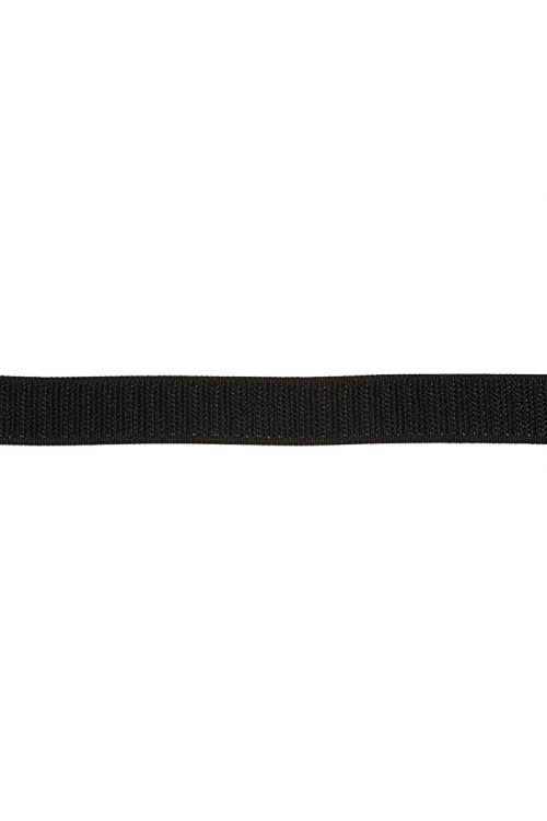 Trak s kaveljčki Stabilit (črn, na voljo za rezanje, samolepilen)