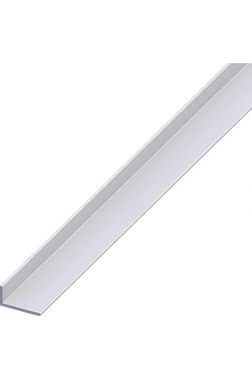 Kotni profil Kantoflex (2.000 x 20 x 10 mm, aluminij, eloksiran, srebrn, debelina: 1,5 mm)