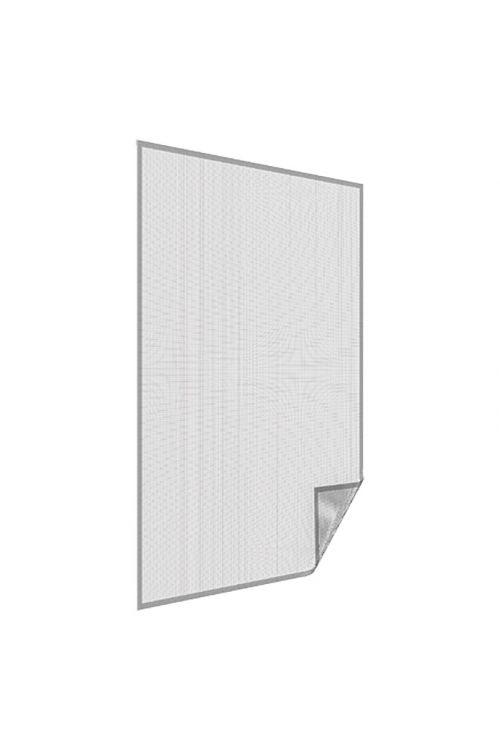 Komarnik Easy Life (130 x 150 cm, antracit, sprijemalni trak, okno)
