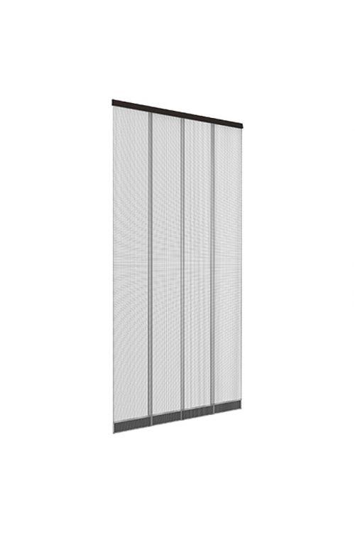 Zaščitna zavesa za vrata proti mrčesu Easy Life Luxus (1,00 x 2,20 m, antracitne barve)