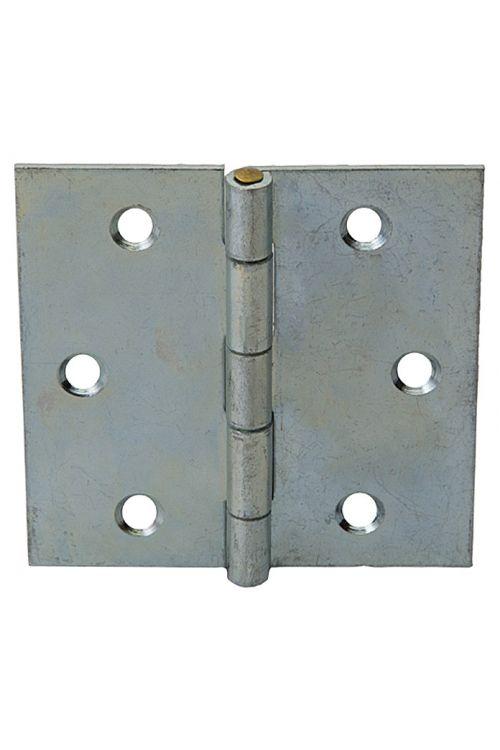 Tečaj Stabilit (80 x 80 mm, pocinkan, srebrn)