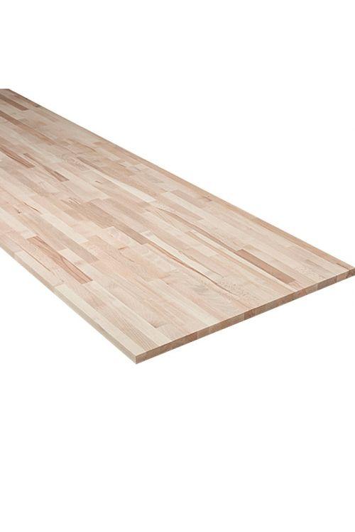 Delovna plošča Exclusivholz (4,000 x 800 x 27mm, bukev)