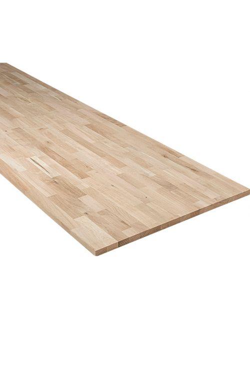 Delovna plošča Exclusivholz (2,600 x 635 x 26 mm, hrast)