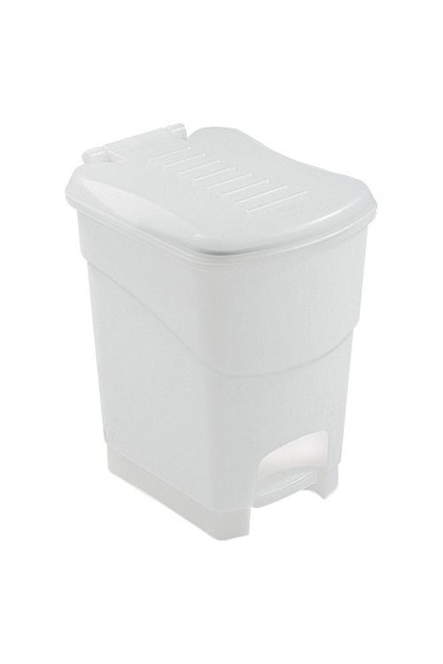 Koš s pedalom za kopalnico KIS Koral (6 l, Frozen oglat, umetna masa)