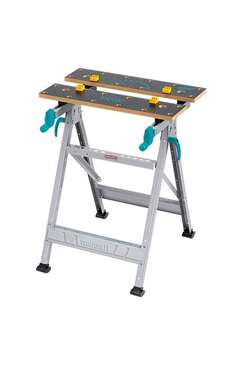 Vpenjalna delovna miza Wolfcraft Master 200 (delovna višina: 800 mm, velika delovna miza: 64,5 x 30 cm)