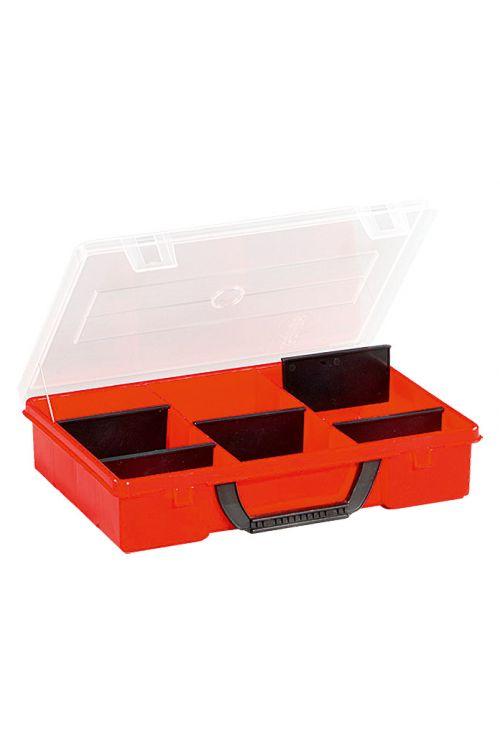 Organizator Wisent 3-3/4 (število predalov: 3 fiksnih, 4 nastavljivih, 280 x 200 x 55 mm)