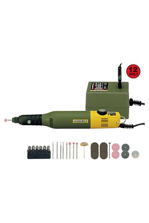 Komplet za modelarstvo in vrezovanje Proxxon Micromot 50 E (12–18 V, 40 W, razpon: 1–3,2 mm)