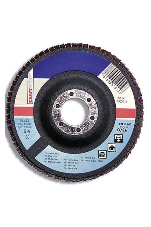 Brusilne plošče Craftomat G-A (premer plošče: 115 mm, granulacija: 80)