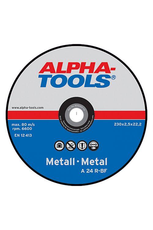 Rezalna plošča Alpha Tools A 24R-BF (kovina, premer plošče: 230 mm, moč plošče: 2,5 mm, 5 kosov)