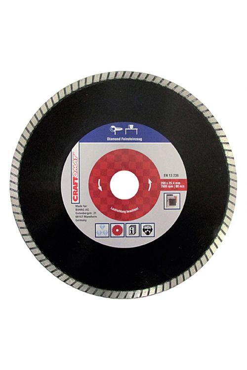 Diamantna rezalna plošča Craftomat (fina kamenina, premer plošče: 200 mm, moč plošče: 2 mm)
