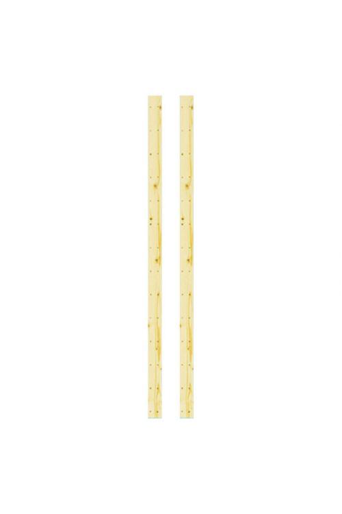 Stranici – regalni sistem Regalux Heavy (višina: 174 cm, 2kosa, les)
