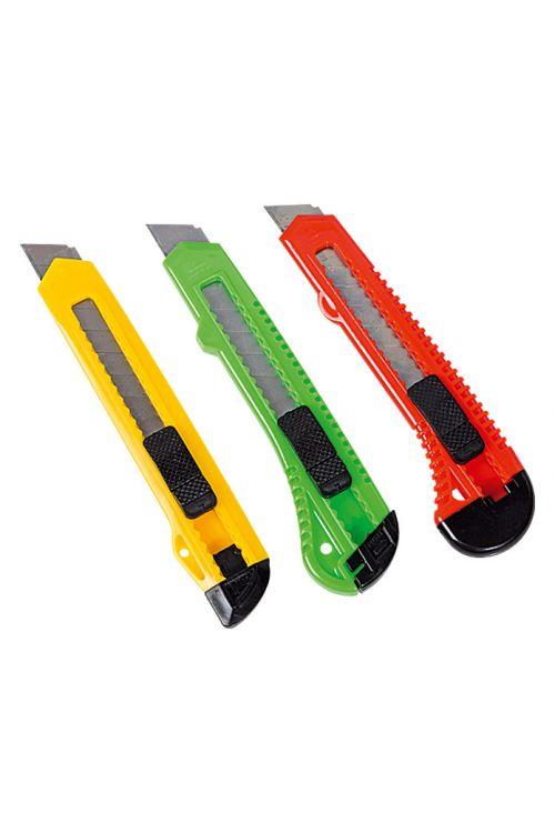 Komplet nožev Alpha Tools 2 (3-delni, širina rezil: 18 mm) (3-delni, širina rezil: 18 mm)