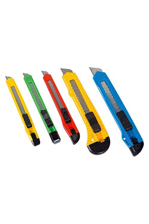 Komplet nožev Alpha Tools 3 (5-delni, širina rezil: 9–18 mm)