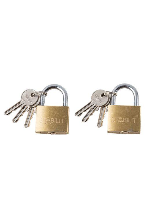 Komplet ključavnic obešank Stabilit (2 kosi, širina: 40 mm, jeklo)