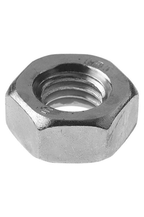 Šestroba matica Profi Depot A2 (M6, širina ključa: 10, nerjavno legirano jeklo, 100 kosov)