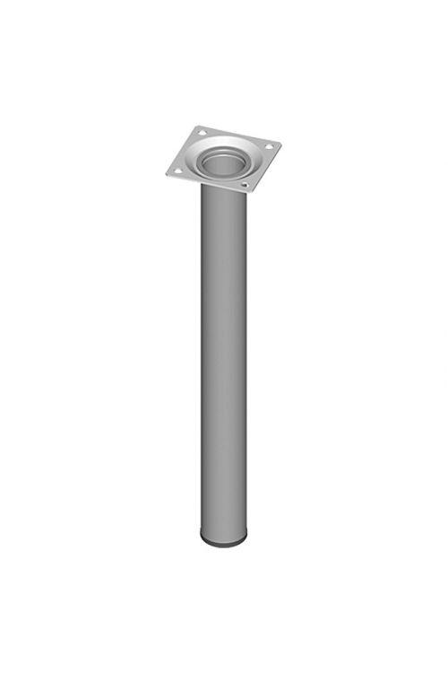 Pohištvena noga Element System (Ø x D: 30 x 300 mm, nosilnost: 50 kg, bela/aluminij)