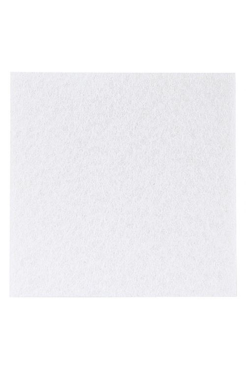 Podloga iz klobučevine Stabilit (100 x 100 x 3,5 mm, bela, samolepilna)