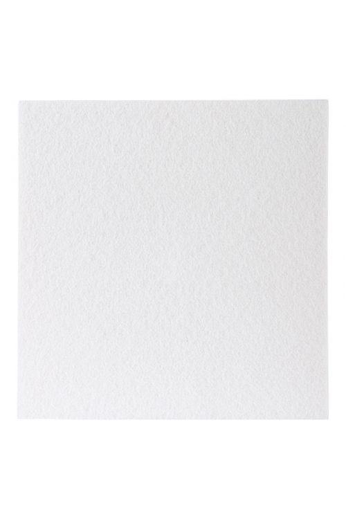 Podloga iz klobučevine Stabilit (200 x 200 x 3,5 mm, bela, samolepilna)