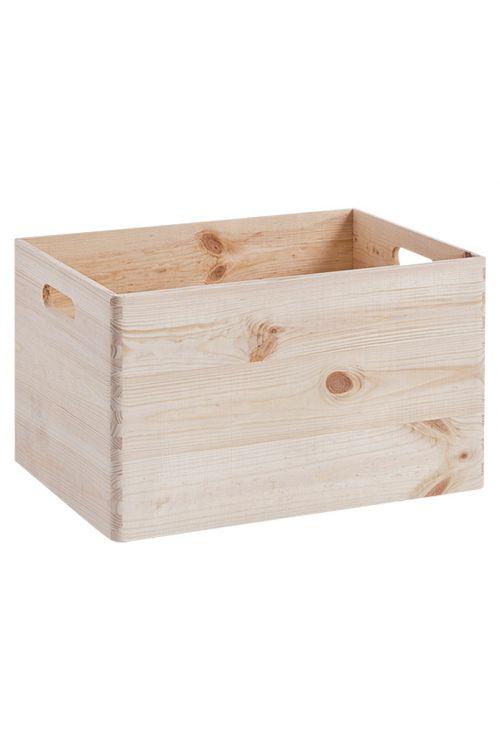Nakladalni zaboj (L, 398 x 298 x 238 mm, iz lesa iglavcev)