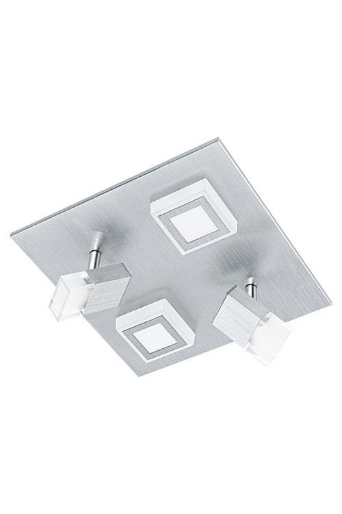 Stropna LED-svetilka 2+2 (4 svetila, maks. moč: 17,4 W, 270 x 270 mm, toplo bela, energetski razred: A+)