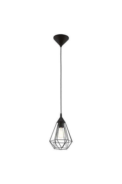Viseča svetilka Eglo Tarbes (črna, višina: 110 cm, maks. moč: 60 W, E27, 1 svetilo, premer: 17,5 cm)