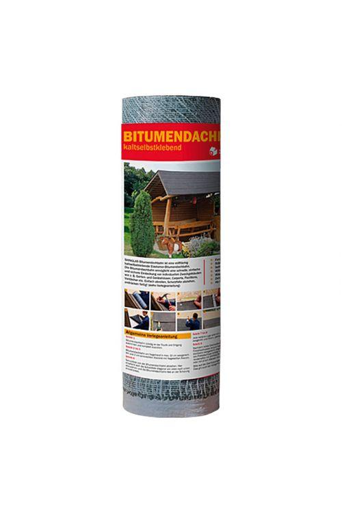 Bitumenski strešni trak KSK (siv, samolepilni, 2,5 m²)