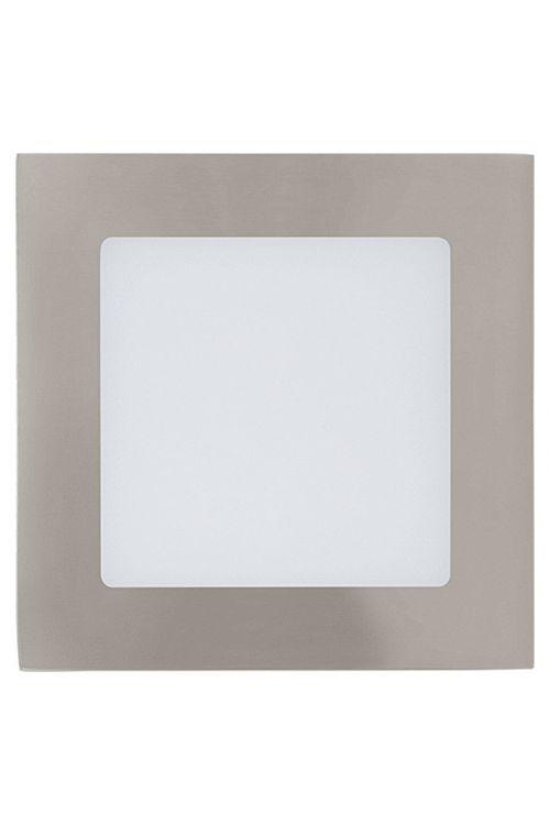 Vgradna LED-svetilka Tween Light (5,5 W, toplo bela, 120 x 120 mm, matiran nikelj)