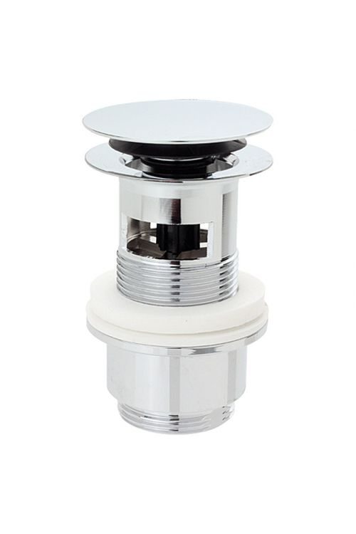 Odtočni ventil Syros, Bäderwelt (1¼-palčni, krom, z gumbom)
