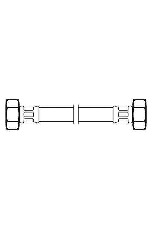 Priključna cev, Flexo (½-palčna/½-palčna, dolžina: 100 cm)
