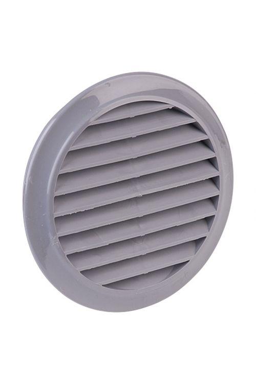 Zidni zračnik Air-Circle (siv, premer priključnega nastavka: 100 mm, z mrežo proti muham)