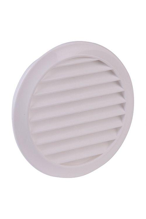 Zidni zračnik Air-Circle (bela, premer priključnega nastavka: 100 mm, z mrežo proti muham)